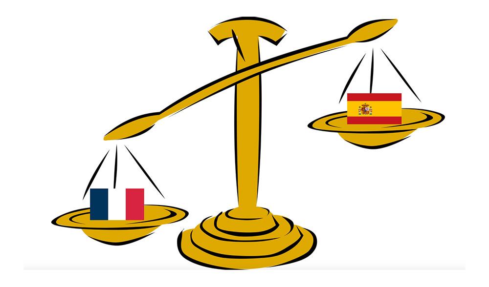 balanza francia españa