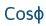 cos (letra griega fi)