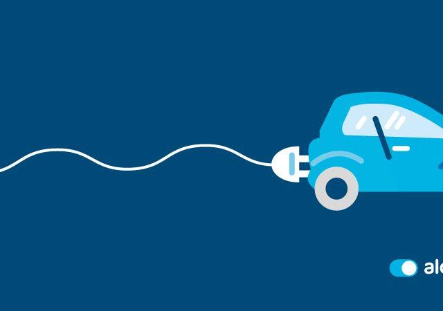 coche eléctrico y combustión