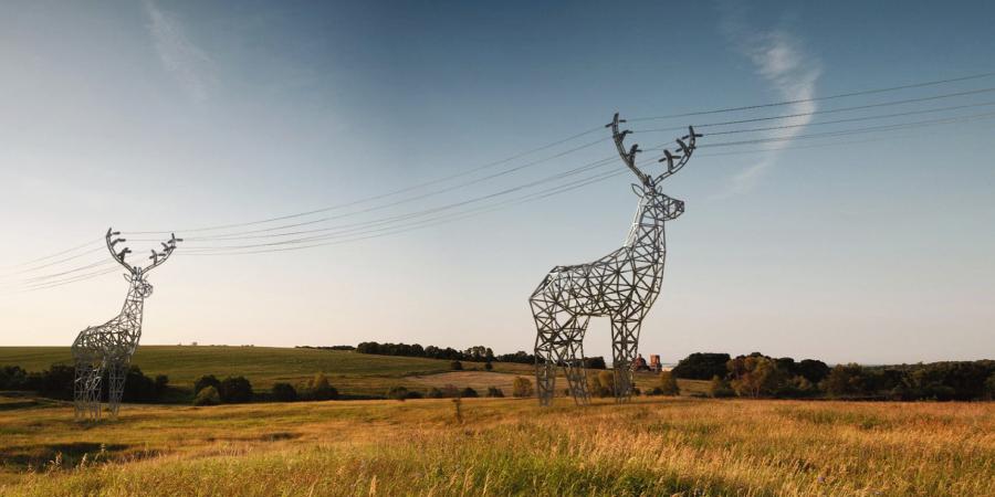 postes eléctricos originales