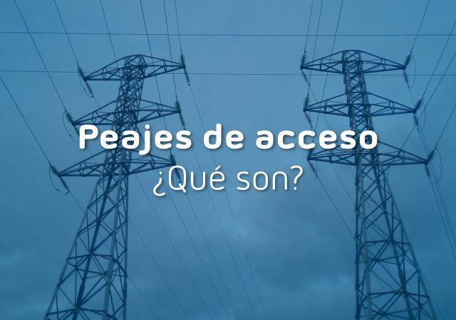 peajes de acceso de electricidad