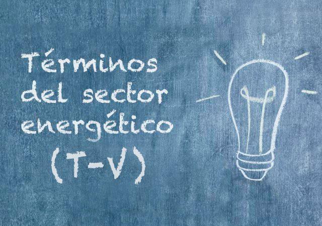 términos del sector energético
